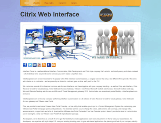 citrixwebinterface.webs.com screenshot