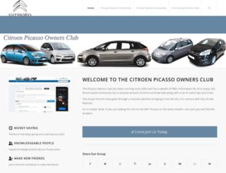 citroenpicasso.org.uk screenshot