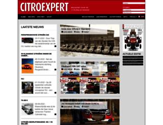 citroexpert.nl screenshot