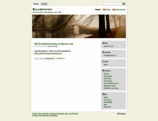 citrusdaily.wordpress.com screenshot