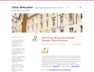 citrusrelocation.wordpress.com screenshot
