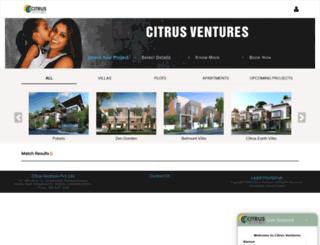 citrusventures.in screenshot