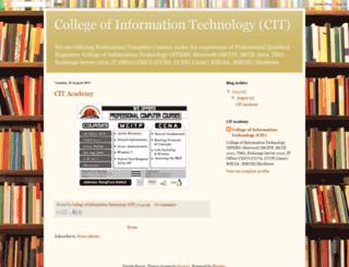 citskt.blogspot.com screenshot