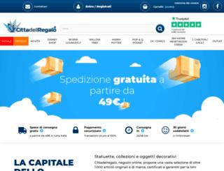 cittadelregalo.it screenshot