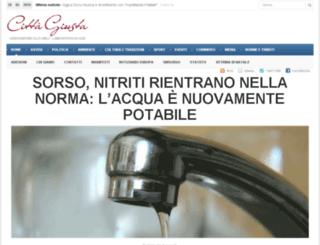 cittagiusta.it screenshot
