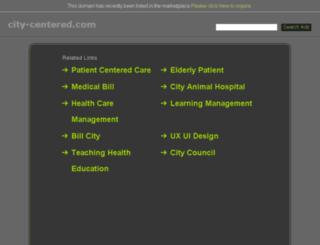 city-centered.com screenshot