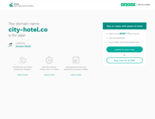 city-hotel.co screenshot