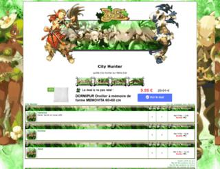 city-hunter.keuf.net screenshot