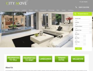 city-move.co.uk screenshot