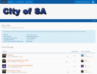city-of-sa.de screenshot