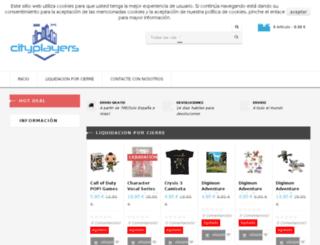city-players.com screenshot