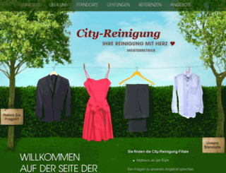 city-reinigung.net screenshot