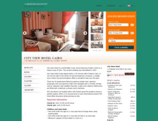 city-view.cairohotelsegypt.net screenshot