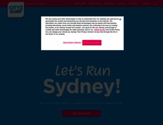 city2surf.com.au screenshot