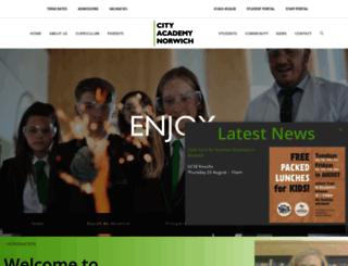 cityacademynorwich.org screenshot