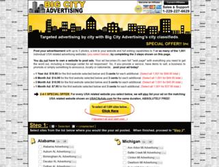 cityadvertiser.com screenshot
