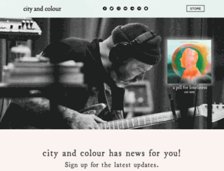 cityandcolour.ca screenshot