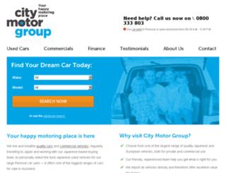 cityautosdirect.citymotorgroup.co.nz screenshot