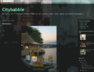 citybabble.blogspot.com screenshot