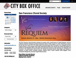 cityboxoffice.com screenshot