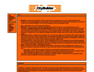 citybuilder.sourceforge.net screenshot