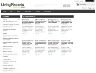 citybusiness.livingplace4u.com screenshot
