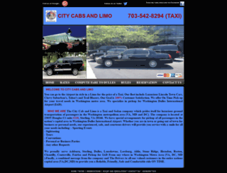citycabsandlimo.com screenshot