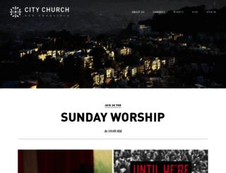 citychurchsf.org screenshot
