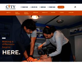 citycollege.edu screenshot