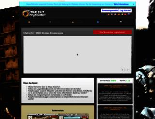 cityconflict.com screenshot