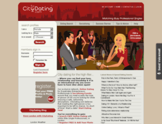 citydating.co.uk screenshot