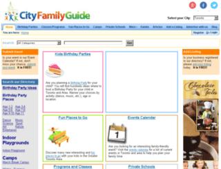 cityfamilyguide.com screenshot