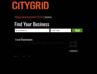 citygrid.com screenshot