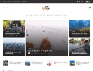 cityguidesblog.com screenshot