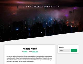 cityhdwallpapers.com screenshot
