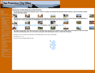 cityhikes.com screenshot