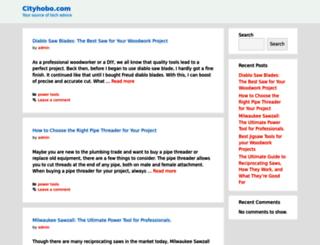 cityhobo.com screenshot
