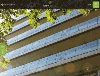 cityhotel.gr screenshot