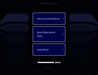 cityhotels.com screenshot