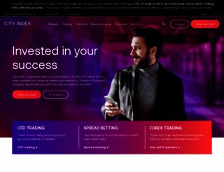 cityindexweb.com screenshot