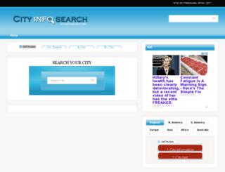 cityinfosearch.net screenshot