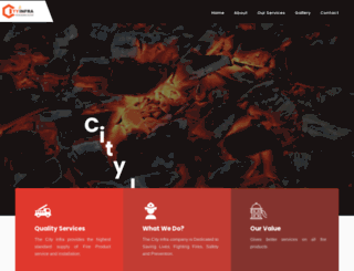 cityinfra.co.in screenshot