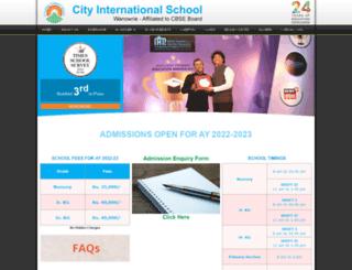 cityinternationalschoolwanowrie.com screenshot