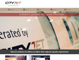 cityjet.com screenshot