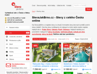 citykupon.cz screenshot
