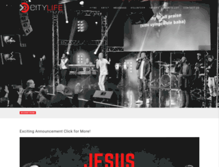citylifechurch.co.za screenshot
