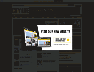 citylifemagazine.ca screenshot