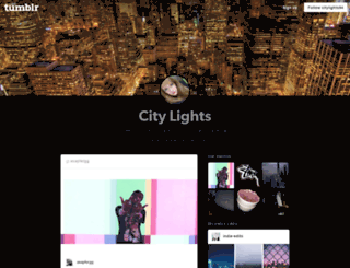 citylights94.tumblr.com screenshot