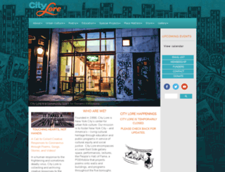 citylore.org screenshot