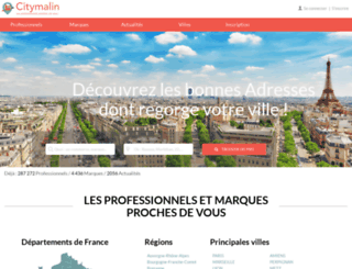 citymalin.com screenshot